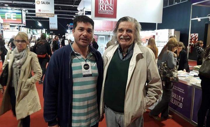 Dir Bib Nacional Horacio Gonzales con Carlños Pascuariello